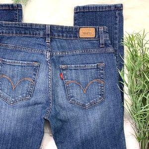 👖I•LEVI'S•I Mid Rise Skinny Jeans 4 Short 👖